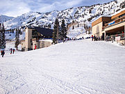 Alta Albion Basin Entrance