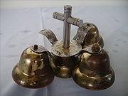 Altar Bells ( Has a Cross Handle)