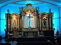Altar of San Pedro Bautista Parish Candelaria, Quezon.JPG
