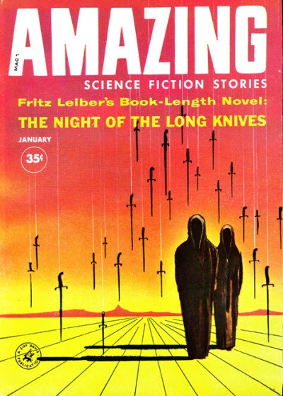 Amazing science fiction stories 196001