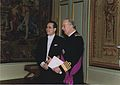 Amb Federico Cuello Presents Credentials to King Albert II - Brussels 16 2 2005.jpg