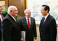 Ambassador Branstad and Secretary of Agriculture Meets with Agriculture Minister Han (39683731904).jpg