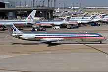 Dallasfort worth international airport wikipedia numerous american airlines aircraft at the airport in 2005 publicscrutiny Gallery