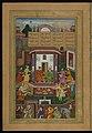 Amir Khusraw Dihlavi - Shirin Entertains Khusraw - Walters W62451A - Full Page.jpg