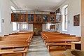 Amstetten Reutti Kirche St. Ägidius und Katharina Kirchenschiff und Empore 2020 07 04.jpg