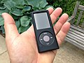 An iPod nano in black rubber (8810105750).jpg