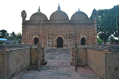 Ancient Mosque( Nayabad) a beautiful creation (6).jpg