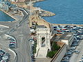 Ancona arch of Traiano and Clementino.JPG