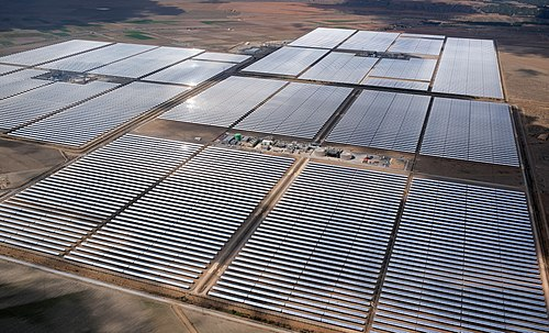 Andasol is the first parabolic trough power plant in Europe, and Andasol 1 went online in March 2009. Because of the high altitude (1,100m) and the semi-arid climate, the site has exceptionally high annual direct insolation of 2,200kWh/m2 per year.