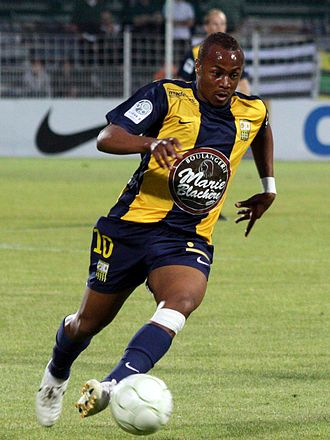 AC Arles-Avignon - André Ayew helped Arles achieve promotion to Ligue 1.