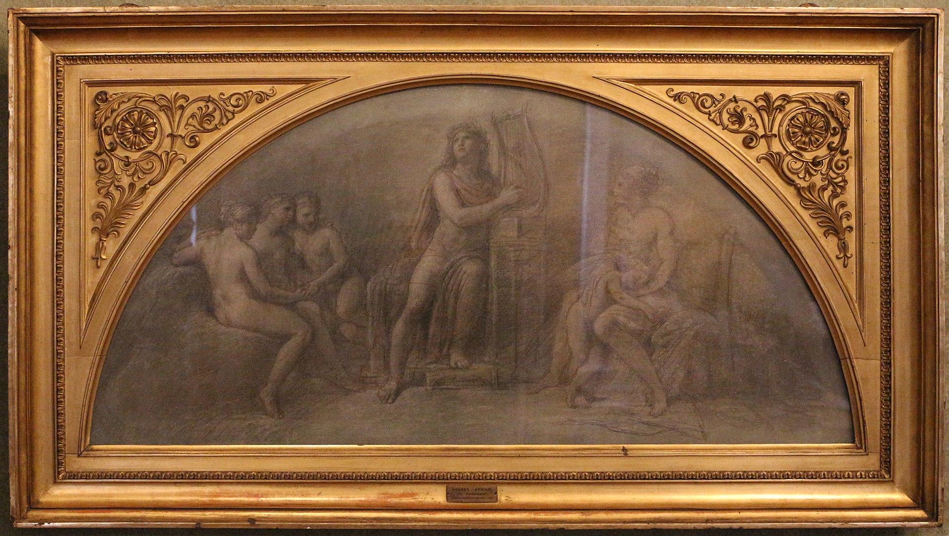 Андреа Аппиани, Apollo Citaredo Tra Venere, Amore E Le Tre Grazie, 1780-900 ca.jpg