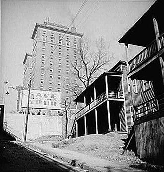 Andrew Johnson Building - Andrew Johnson Hotel in 1941