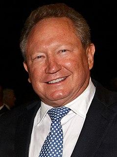 Andrew Forrest Australian mining businessman