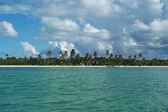 Andros, Bahamas - Beach on South Andros Island