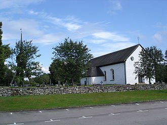 Angelstad - Angelstad church