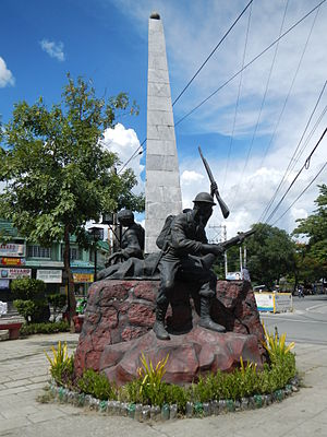 Angono, Rizal - World War II Monument, Junction