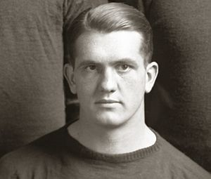 Angus Goetz - Goetz cropped from 1919 team photo
