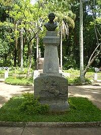 Bust Of Garibaldi In Rhode Island