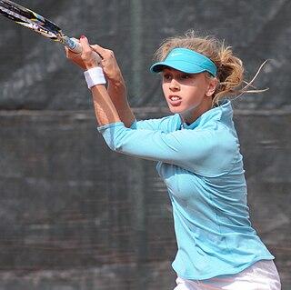 Anna Smolina Russian tennis player
