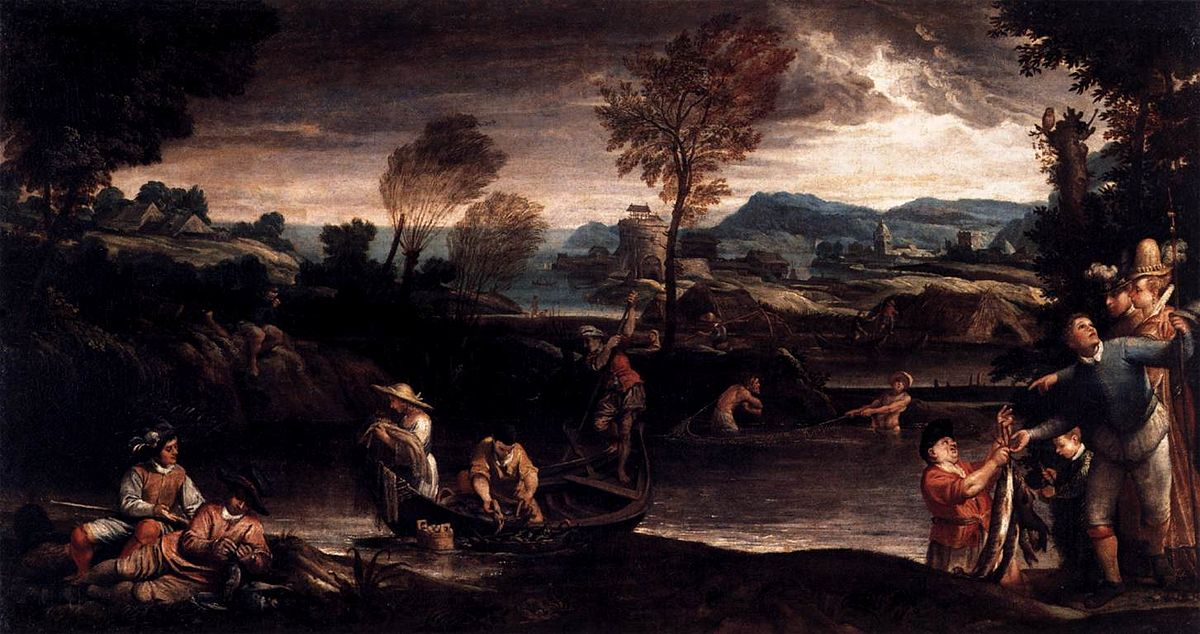 Fishing (Carracci) - Wikipedia