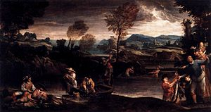 Fishing (Carracci)