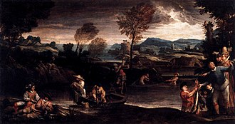 Fishing (Carracci) - Image: Annibale Carracci Fishing WGA4414