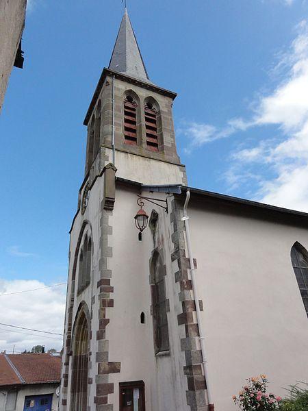 Anthelupt (M-et-M) église churches in Meuse