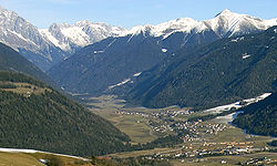 The Antholz valley
