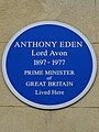 Anthony Eden Lord Avon 1897-1977 Prime Minister of Great Britain lived here.jpg