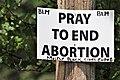 Anti-abortion sign in Schenectady, New York.jpg