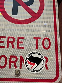 left-wing anti-fascist militant movement in the United States