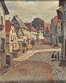 Anton Engelhard - Blick in eine Dorfstraße.jpg
