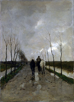 Anton Mauve - A Dutch Road - Google Art Project