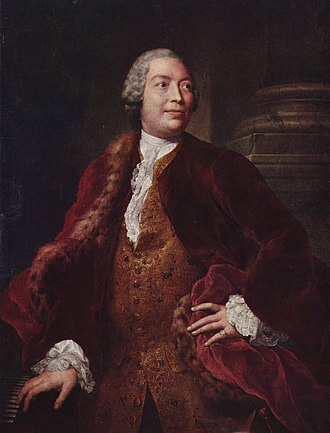 Domenico Annibali - One of two portraits of Domenico Annibali that was painted by artist Anton Raphael Mengs.