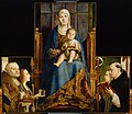 Antonello da Messina, , Kunsthistorisches Museum Wien, Gemäldegalerie - Hl. Dominikus mit Chorknaben - GG 7728 - Kunsthistorisches Museum.jpg