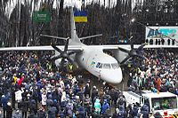 Antonov An-132D roll out.jpg