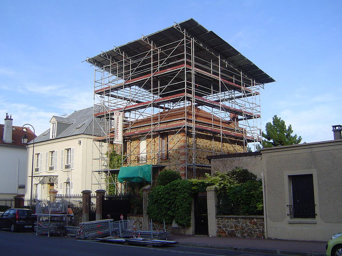 Sur l vation wikip dia for Cout surelevation maison