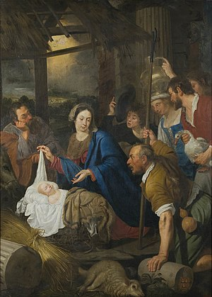 Antoon van den Heuvel - Adoration of the shepherds