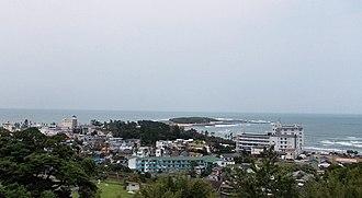 Miyazaki, Miyazaki - Image: Aoshima July 2011