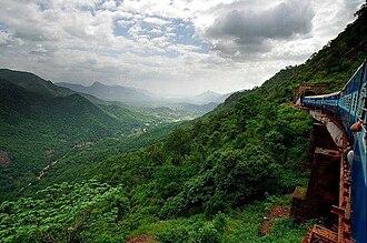 Kothavalasa–Kirandul line - Kothavalasa–Kirandul line passes through Araku Valley in Visakhapatnam district