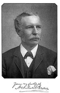 Archibald G. Brown British minister