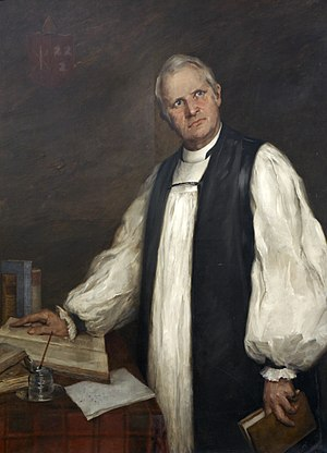 Archibald Robertson (bishop) - Portrait of Robertson as Bishop of Exeter
