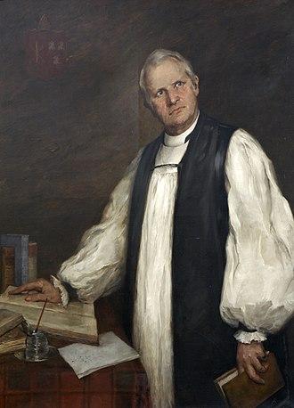 Archibald Robertson (bishop) - Portrait of Robertson as Bishop of Exeter