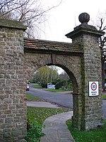 File:Archway into Ganghill - geograph.org.uk - 302365.jpg