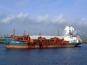 Arco Humber p4 at IJmuiden, Port of Amsterdam, Holland.JPG