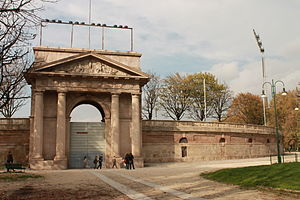 Arena Civica - The entrance of the Arena