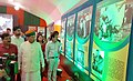 Arjun Ram Meghwal inaugurated a five-day Mega Exhibition cum seminar on 'New India-We Resolve to Make', organised by the Ministry of Parliamentary Affair.jpg