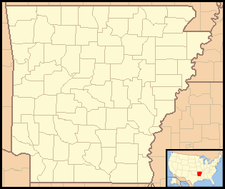 Greenland is located in Arkansas