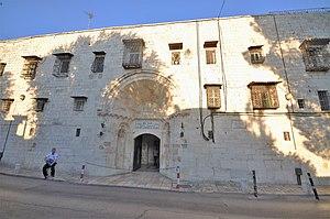 Armenian Quarter - The entrance to St. James monastery