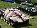 Armortek Jagdpanther & Sherman (3666375450).jpg